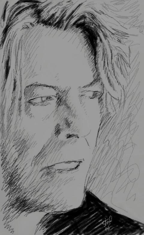 David Bowie by stefart